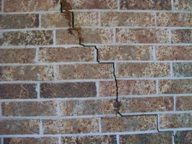 Exterior Wall Stress Crack Real Estate Training Systems Rets